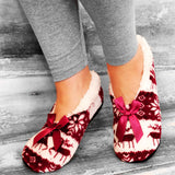 Warm Womens Ballerina Slippers, Scandinavian