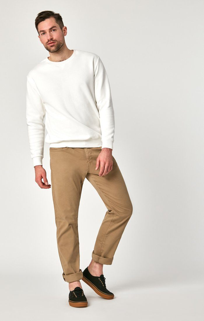 MATT RELAXED STRAIGHT LEG IN BRITISH KHAKI TWILL Image 1