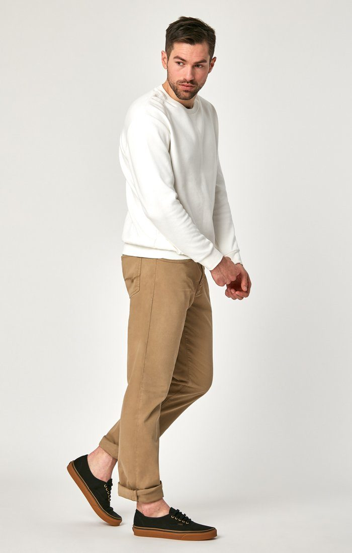 MATT RELAXED STRAIGHT LEG IN BRITISH KHAKI TWILL Image 2
