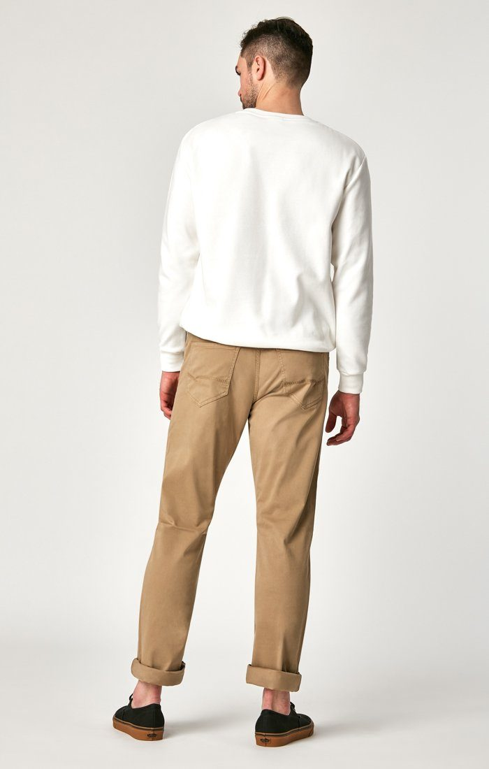 MATT RELAXED STRAIGHT LEG IN BRITISH KHAKI TWILL Image 3