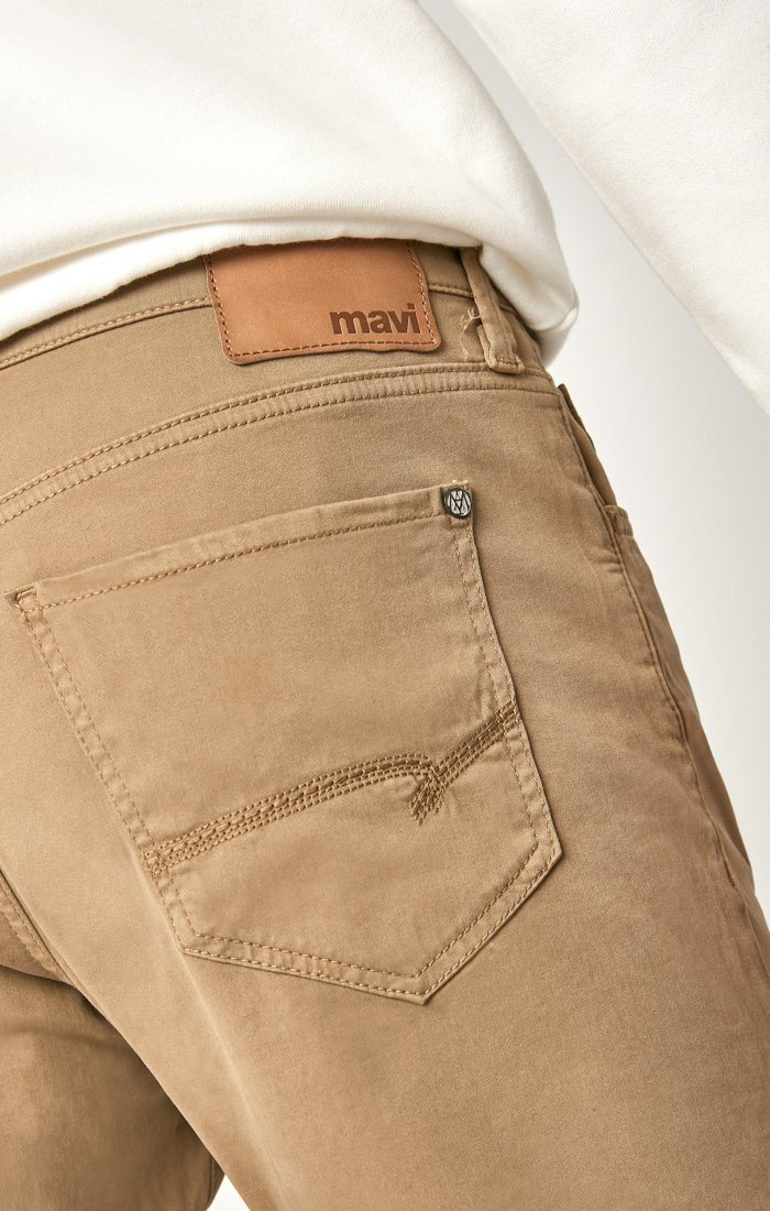 MATT RELAXED STRAIGHT LEG IN BRITISH KHAKI TWILL Image 4