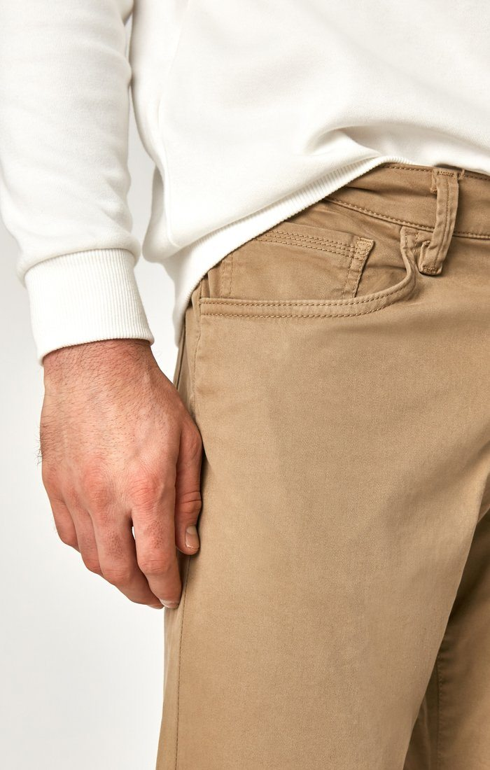 MATT RELAXED STRAIGHT LEG IN BRITISH KHAKI TWILL Image 5