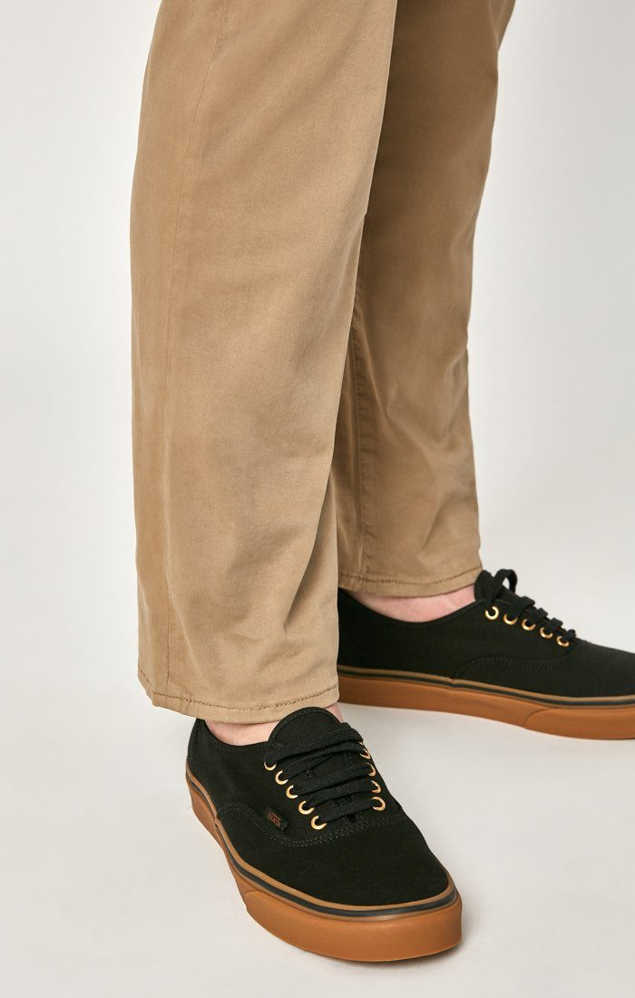 MATT RELAXED STRAIGHT LEG IN BRITISH KHAKI TWILL Image 6