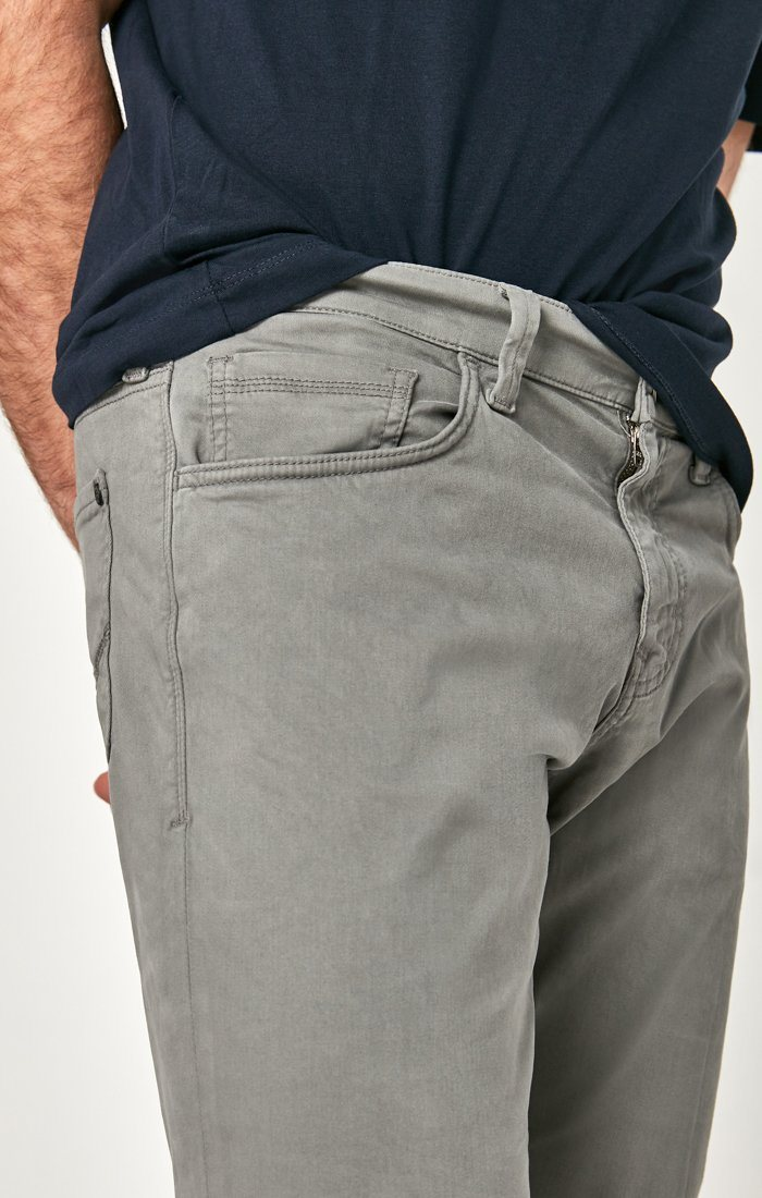 MATT RELAXED STRAIGHT LEG IN GREY TWILL Image 7