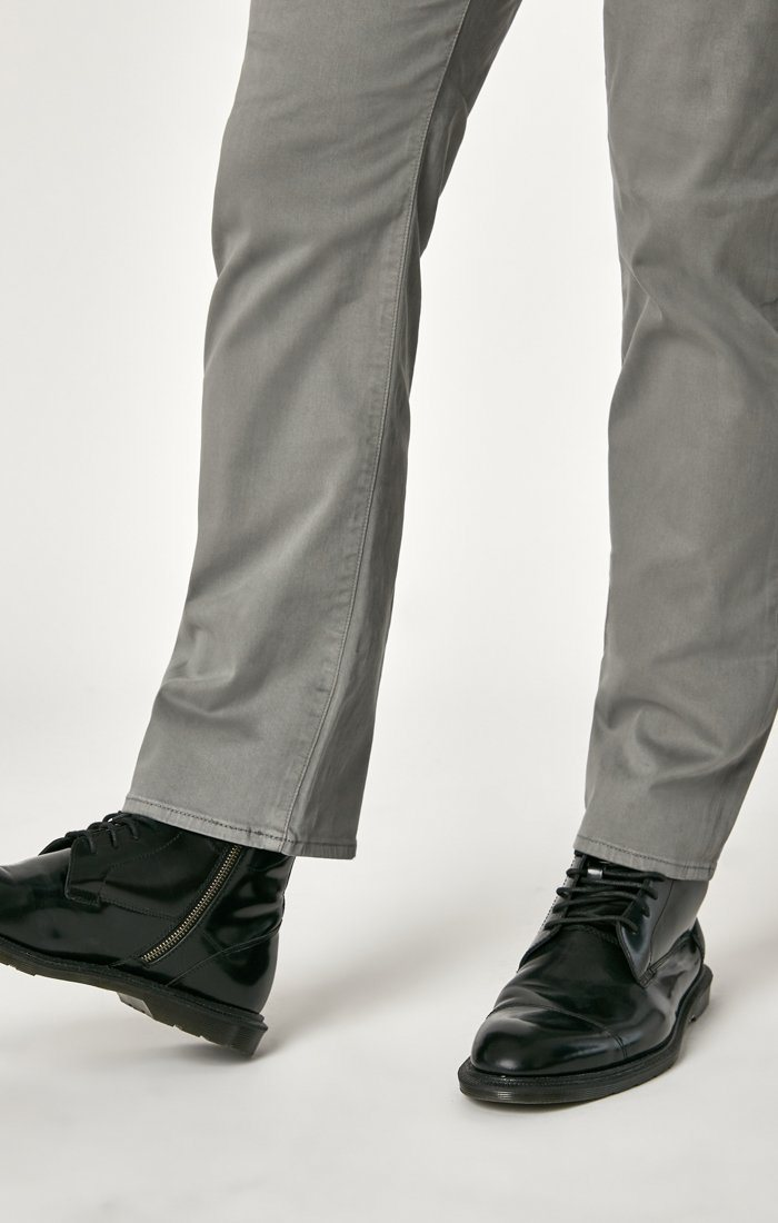 MATT RELAXED STRAIGHT LEG IN GREY TWILL Image 8