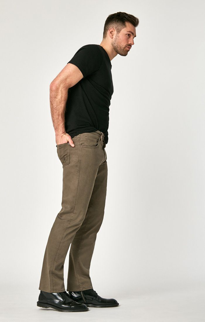 MATT RELAXED STRAIGHT LEG IN DUSTY OLIVE TWILL Image 3