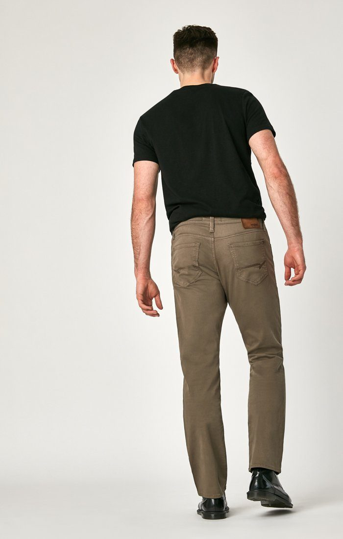 MATT RELAXED STRAIGHT LEG IN DUSTY OLIVE TWILL Image 4