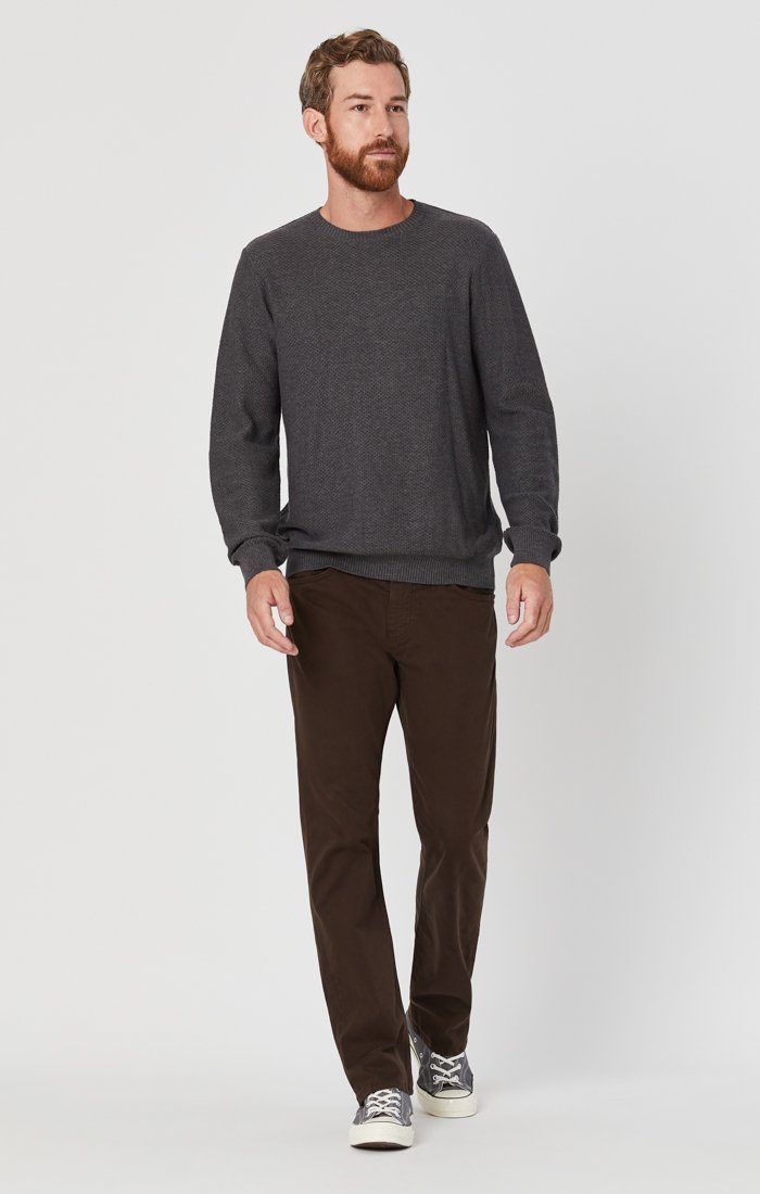 MATT RELAXED STRAIGHT LEG IN COFFEE BEAN TWILL Image 2
