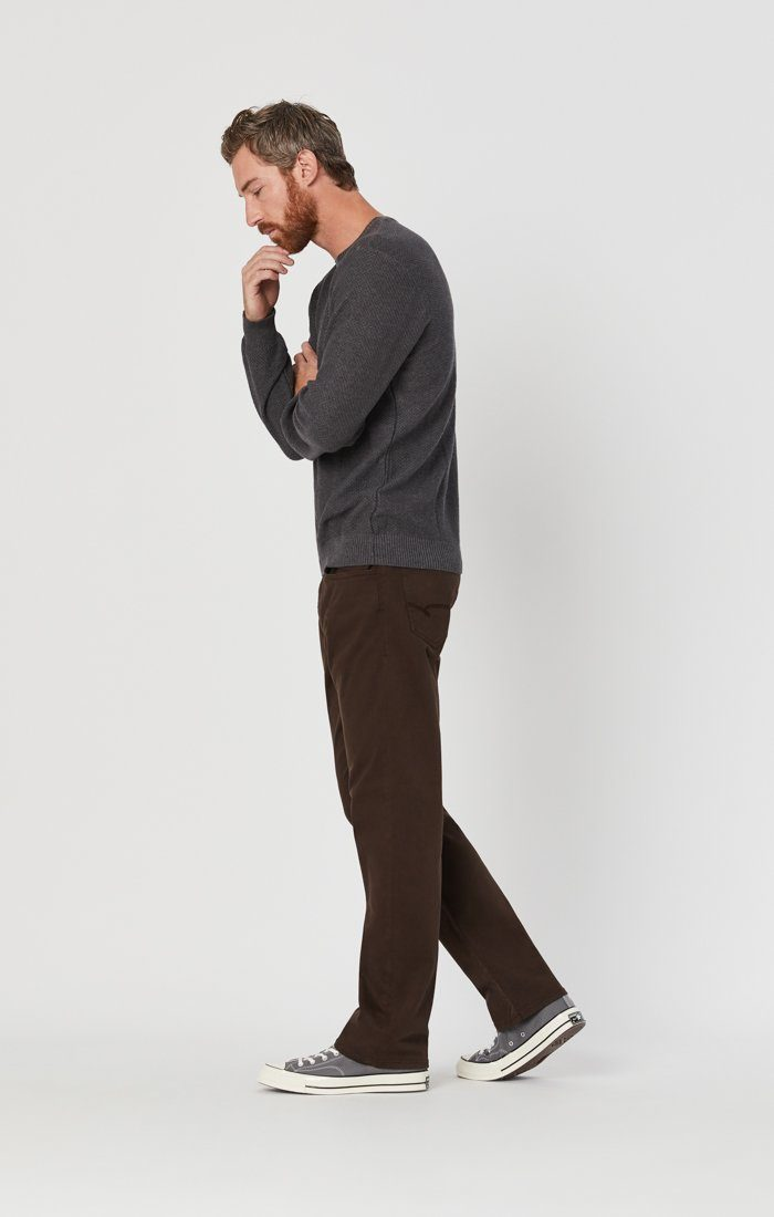 MATT RELAXED STRAIGHT LEG IN COFFEE BEAN TWILL Image 4