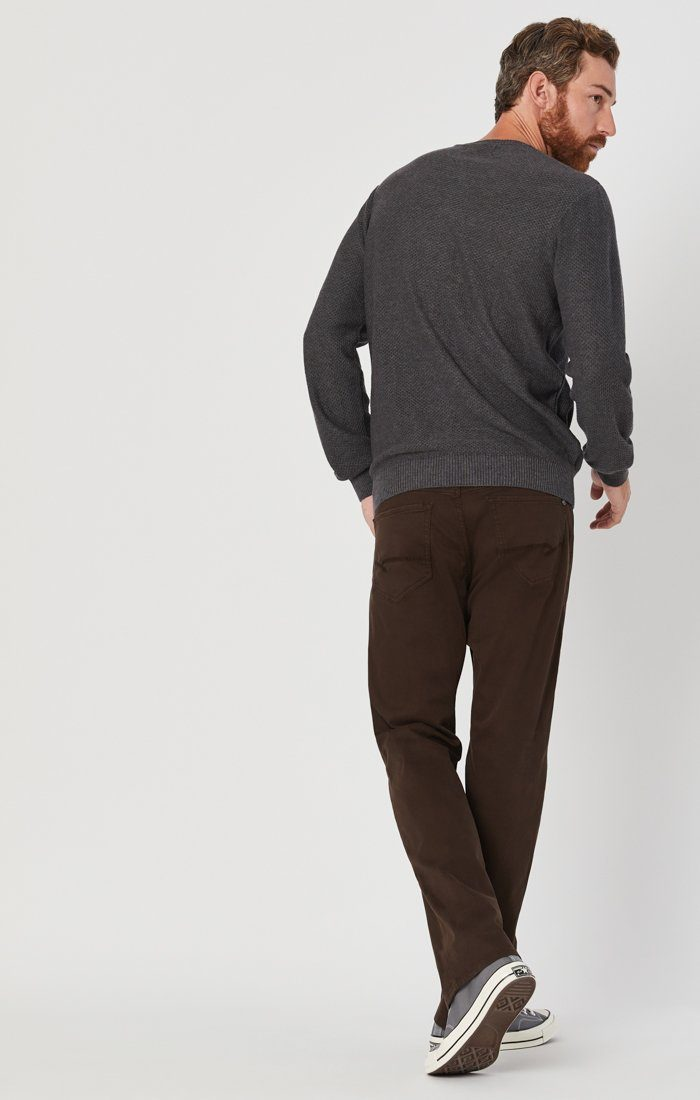 MATT RELAXED STRAIGHT LEG IN COFFEE BEAN TWILL Image 5