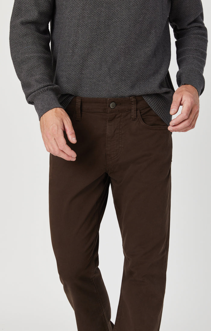 MATT RELAXED STRAIGHT LEG IN COFFEE BEAN TWILL Image 3