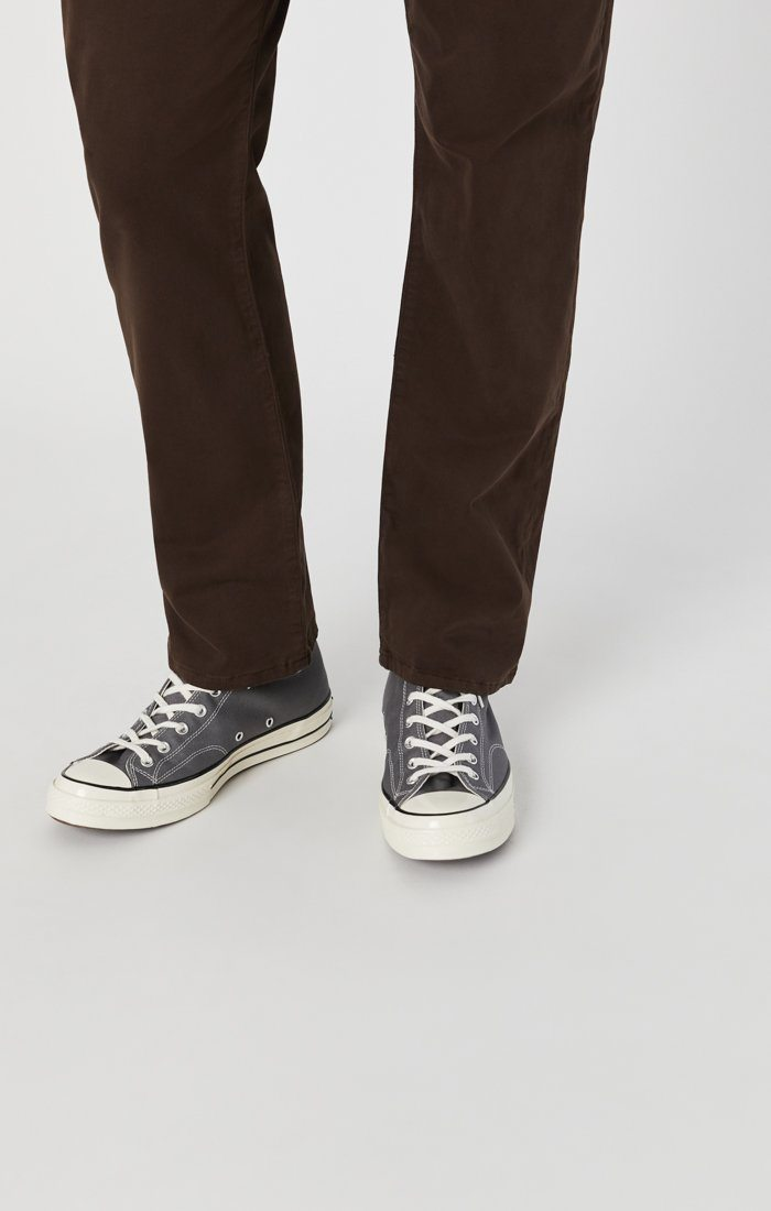 MATT RELAXED STRAIGHT LEG IN COFFEE BEAN TWILL Image 6