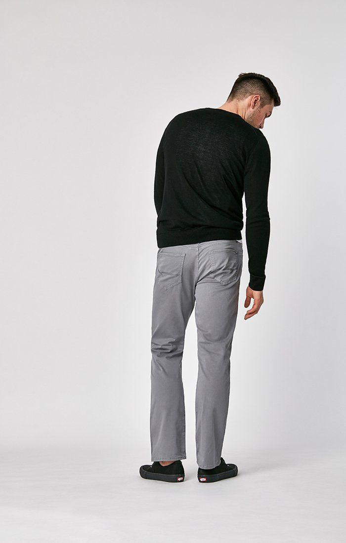 MATT RELAXED STRAIGHT LEG IN SHARK SKIN TWILL Image 4