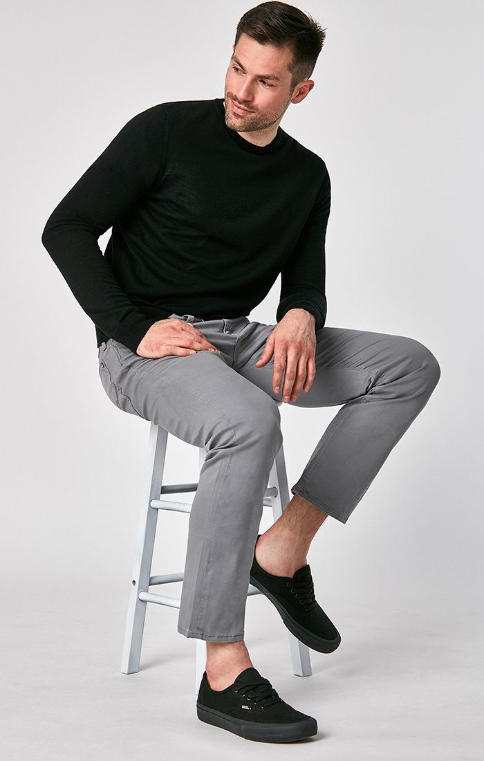 MATT RELAXED STRAIGHT LEG IN SHARK SKIN TWILL Image 1