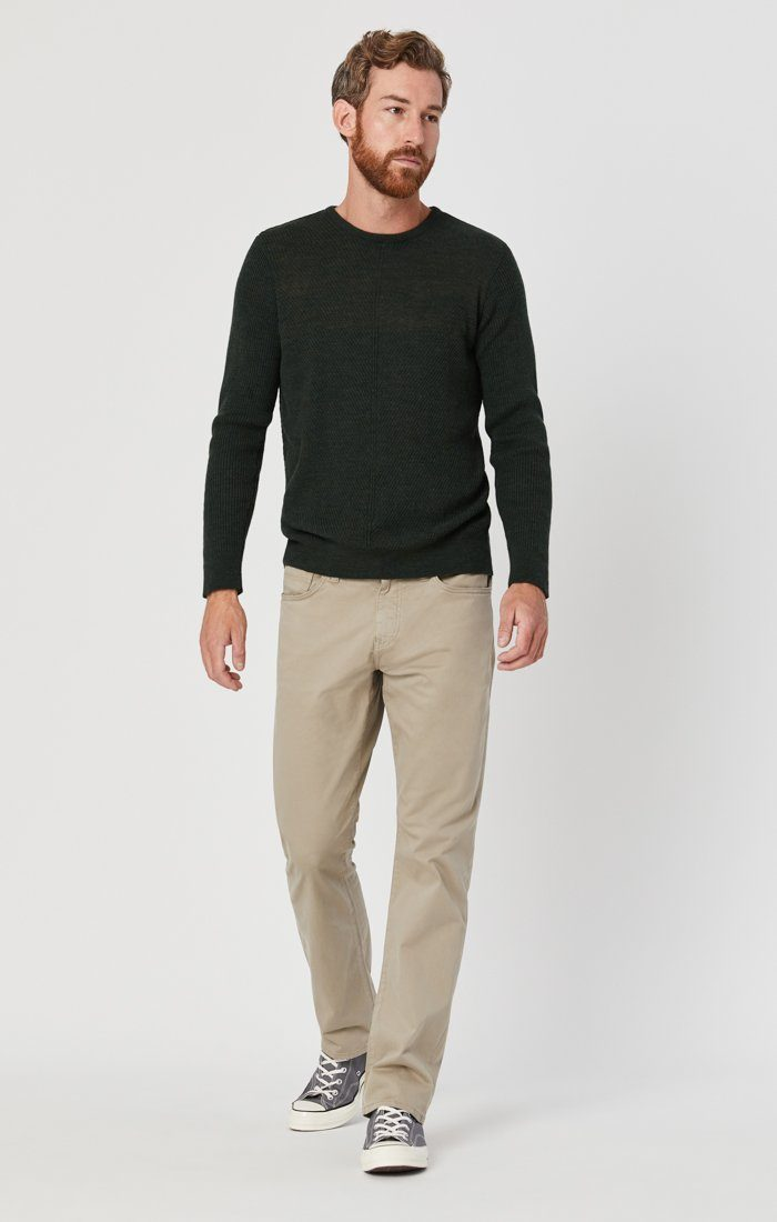 MATT RELAXED STRAIGHT LEG IN BEIGE TWILL Image 2