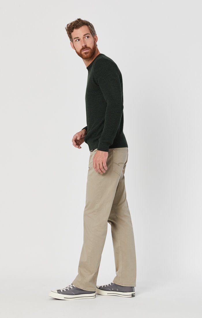 MATT RELAXED STRAIGHT LEG IN BEIGE TWILL Image 3