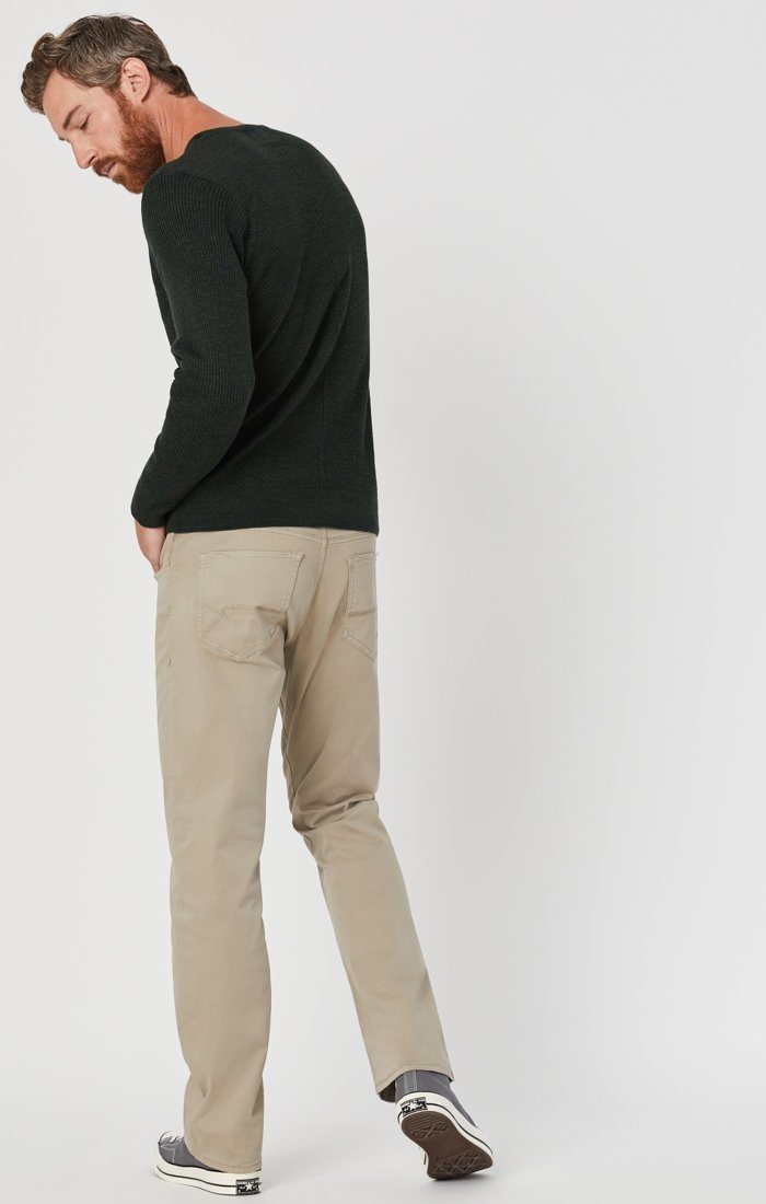 MATT RELAXED STRAIGHT LEG IN BEIGE TWILL Image 5