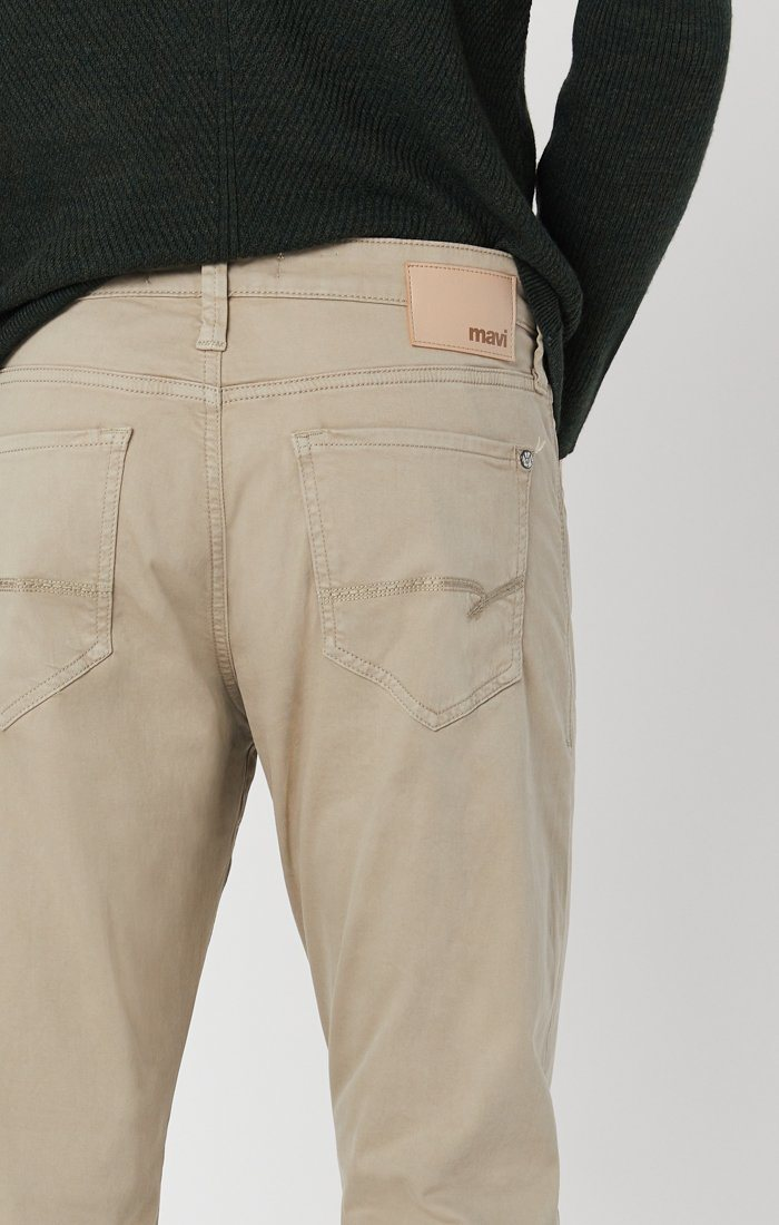 MATT RELAXED STRAIGHT LEG IN BEIGE TWILL Image 4