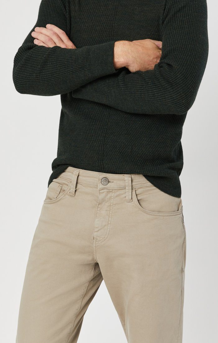MATT RELAXED STRAIGHT LEG IN BEIGE TWILL Image 1