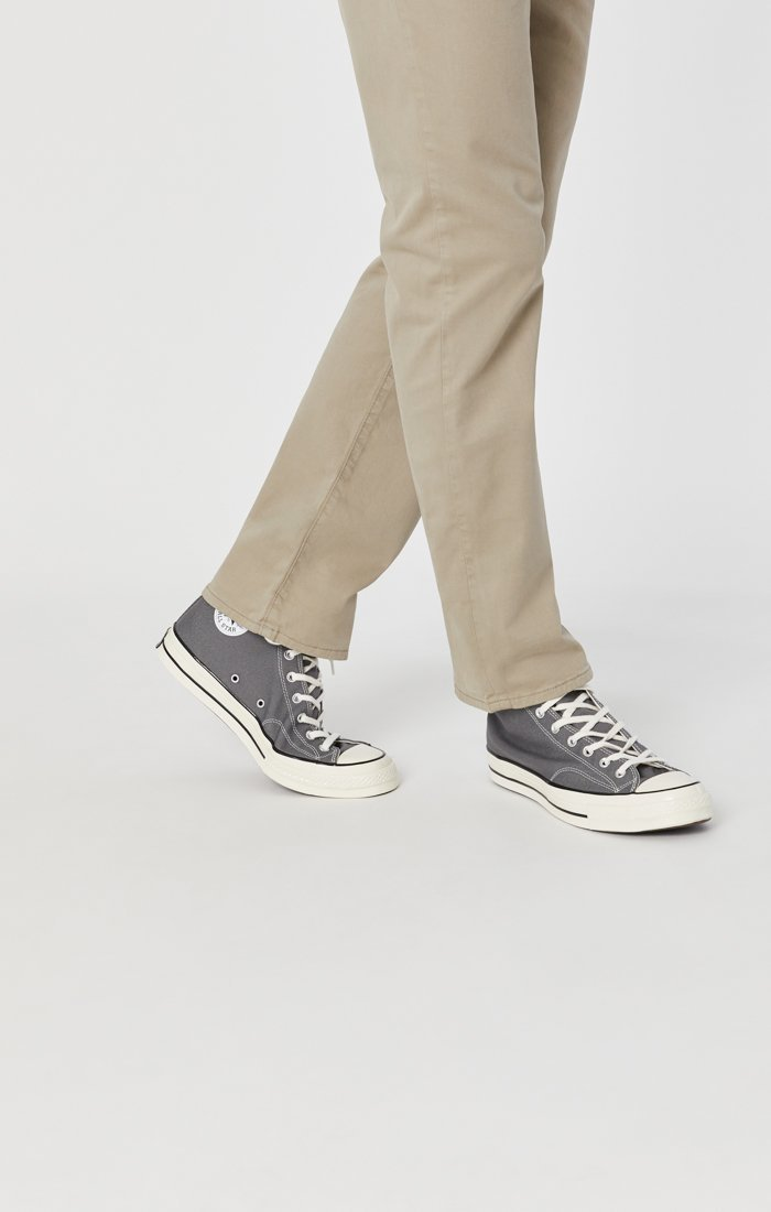 MATT RELAXED STRAIGHT LEG IN BEIGE TWILL Image 6