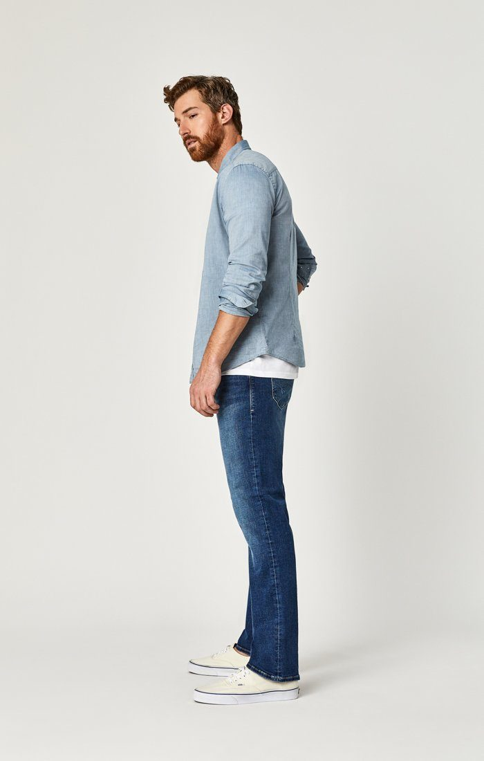 MATT RELAXED STRAIGHT LEG IN MID BRUSHED CASHMERE - Mavi Jeans