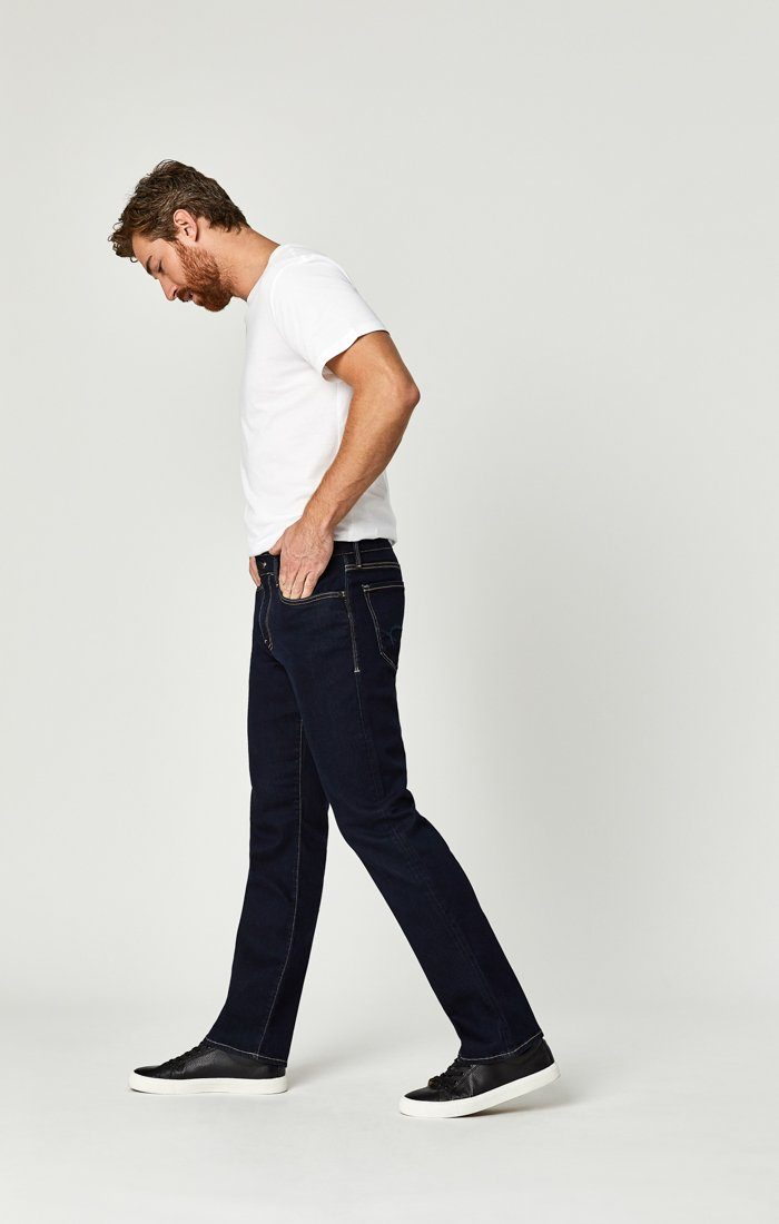 MATT RELAXED STRAIGHT LEG IN DEEP RINSE SOFT MOVE - Mavi Jeans