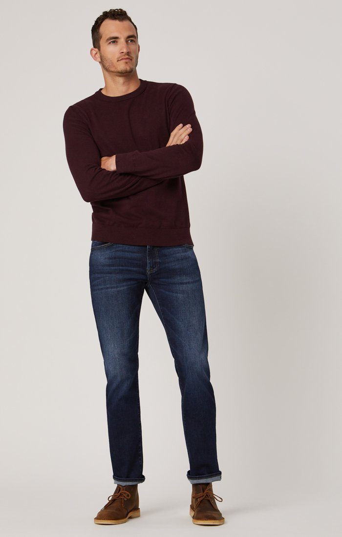 MATT RELAXED STRAIGHT LEG IN DEEP BLUE CASHMERE - Mavi Jeans