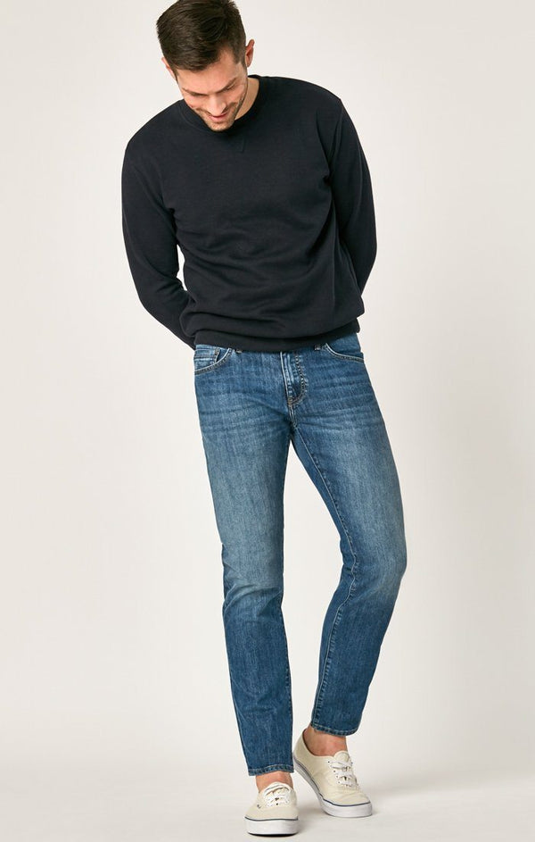 MATT RELAXED STRAIGHT LEG IN MID BLUE STANFORD - Mavi Jeans