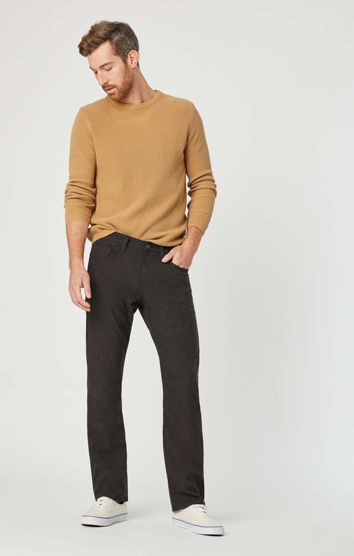 MATT RELAXED STRAIGHT LEG IN BROWN FEATHER TWEED - Mavi Jeans