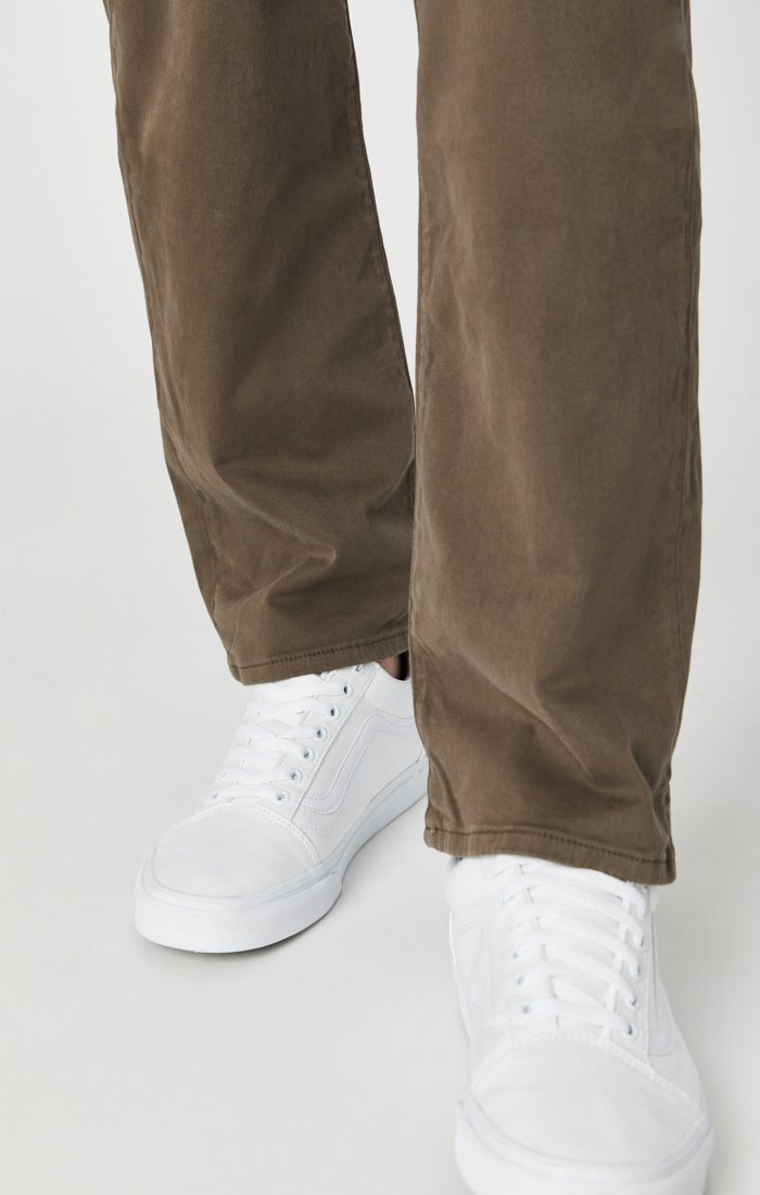 MATT RELAXED STRAIGHT LEG IN MOREL SATEEN TWILL Image 6