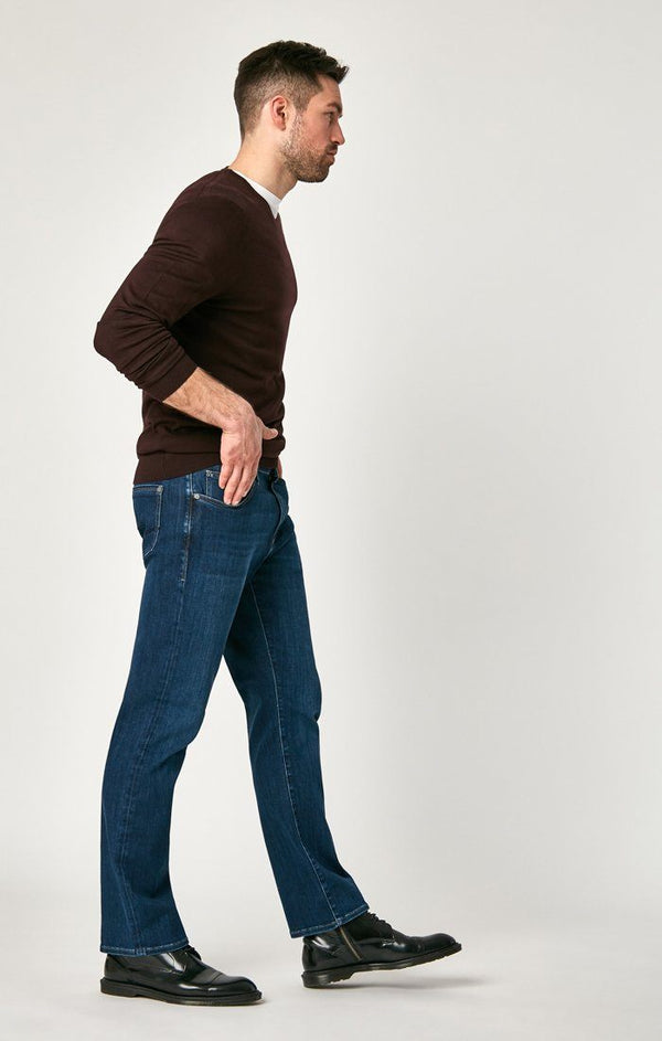 MATT RELAXED STRAIGHT LEG IN DARK BLUE SUPERMOVE - Mavi Jeans