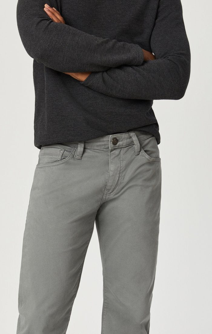 MARCUS SLIM STRAIGHT LEG IN GREY TWILL Image 8
