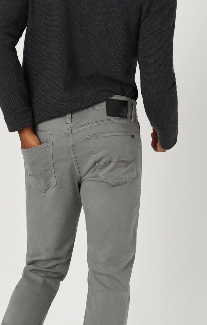MARCUS SLIM STRAIGHT LEG IN GREY TWILL Image 7