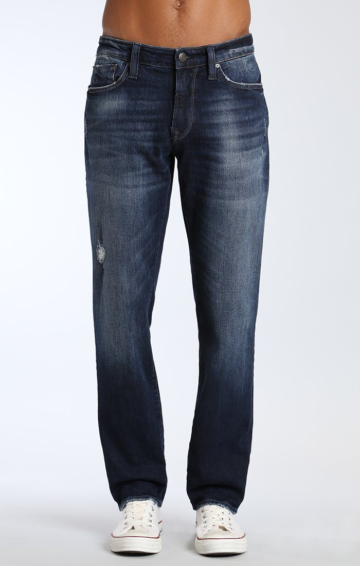 MARCUS SLIM STRAIGHT IN DEEP AUTHENTIC VINTAGE - Mavi Jeans