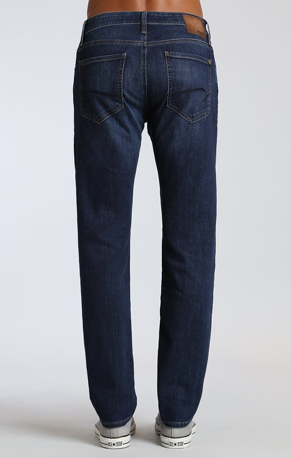 MARCUS SLIM STRAIGHT IN DARK GEORGETOWN - Mavi Jeans