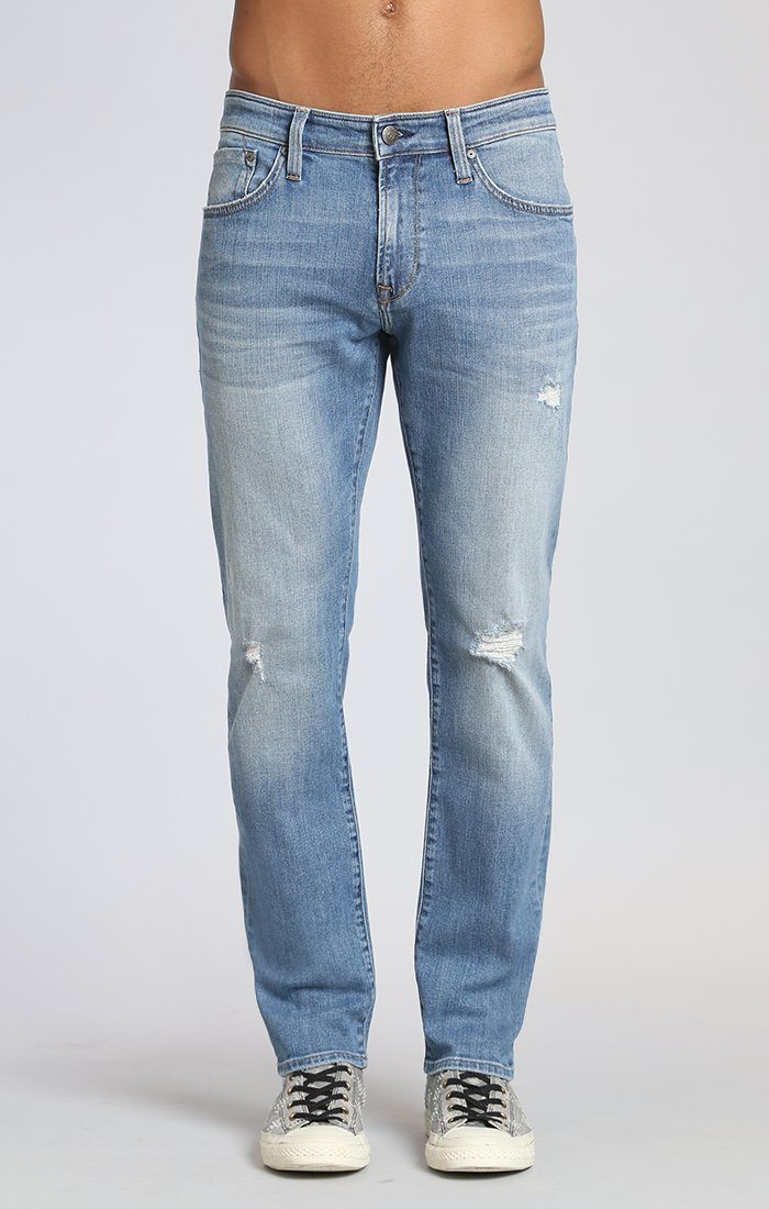 MARCUS SLIM STRAIGHT LEG IN LT USED AUTHENTIC VINTAGE - Mavi Jeans