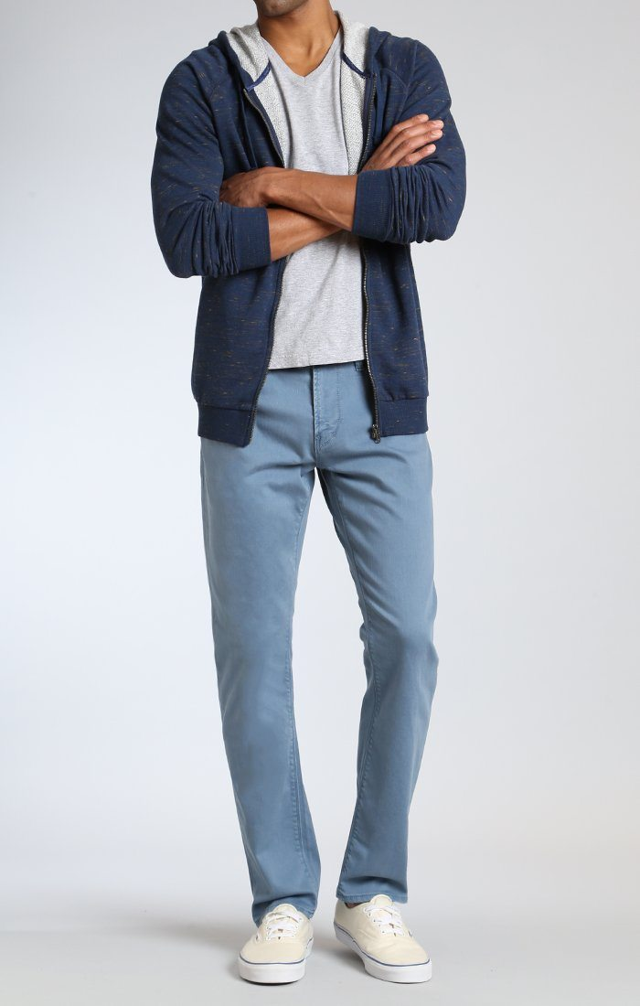 MARCUS SLIM STRAIGHT LEG IN BLUE WASHED COMFORT