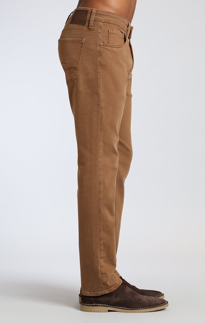 MARCUS SLIM STRAIGHT LEG IN TOFFEE WASHED COMFORT