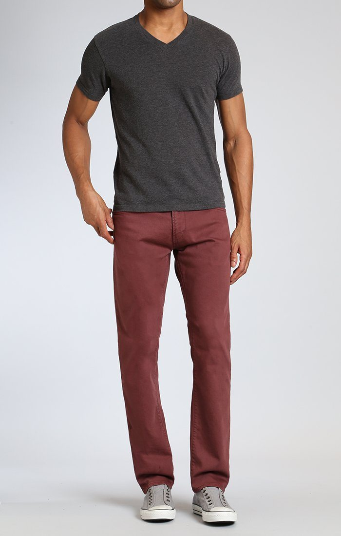 ZACH STRAIGHT LEG IN ROSEWOOD WASHED COMFORT - Mavi Jeans