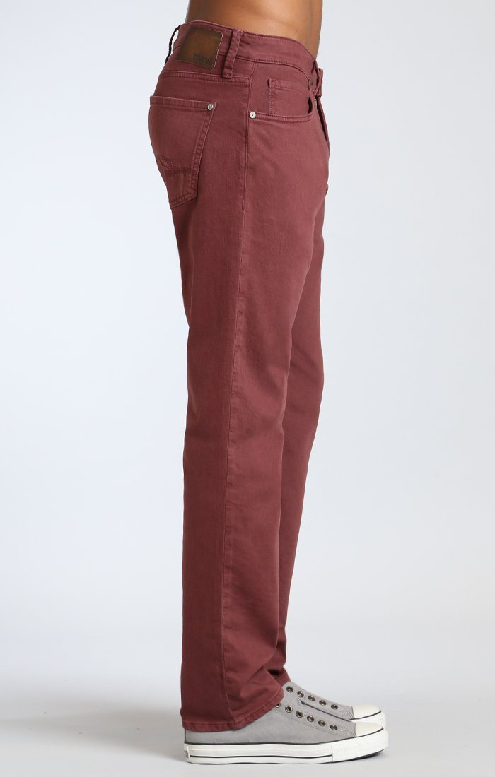 MARCUS SLIM STRAIGHT LEG IN ROSEWOOD WASHED COMFORT - Mavi Jeans