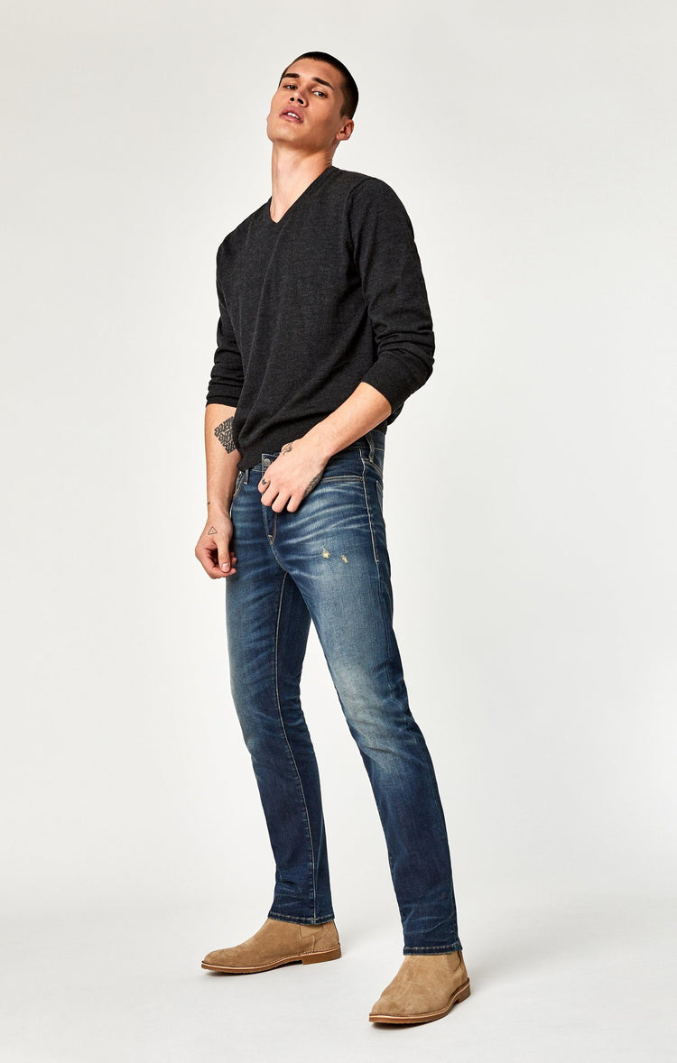 ZACH STRAIGHT LEG IN DEEP FOGGY AUTHENTIC VINTAGE - Mavi Jeans