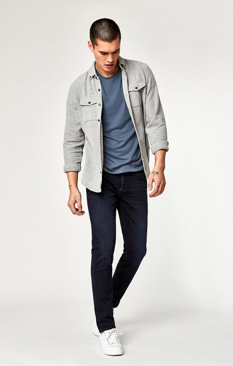 JAKE SLIM LEG IN INK FOGGY WILLIAMSBURG - Mavi Jeans