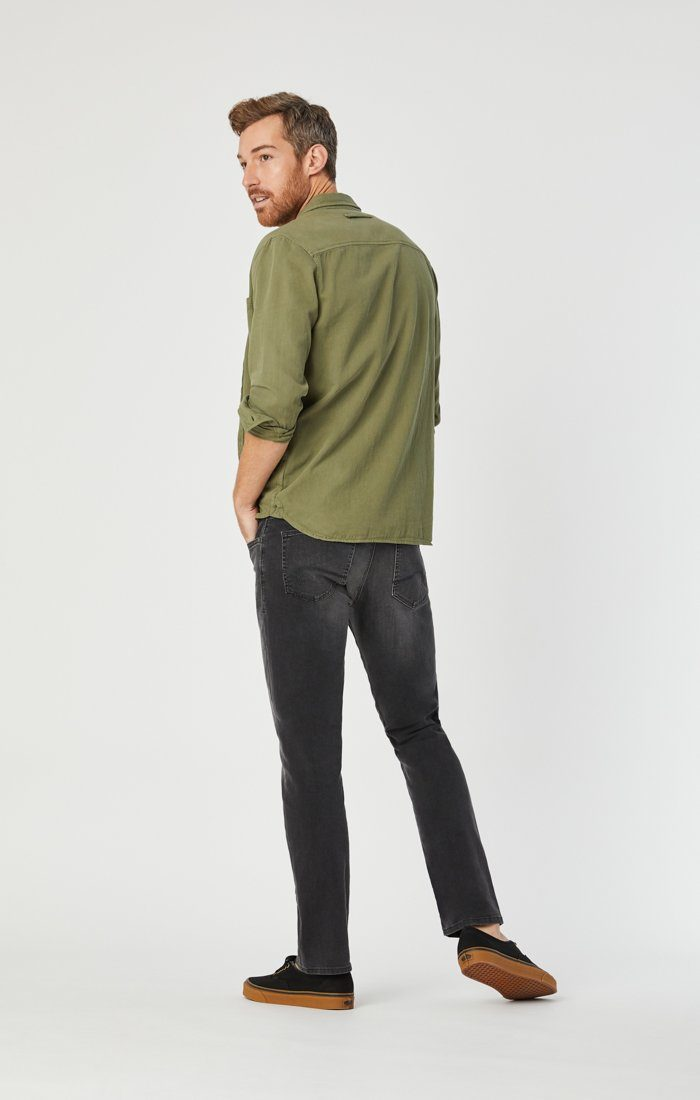 MARCUS SLIM STRAIGHT LEG IN GREY GEORGETOWN - Mavi Jeans
