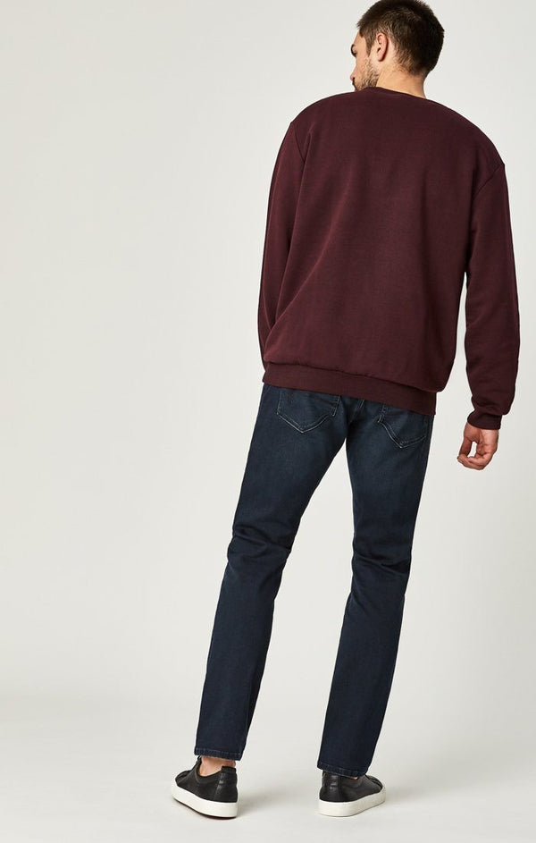 MARCUS SLIM STRAIGHT LEG IN DEEP BLUE MOVE - Mavi Jeans