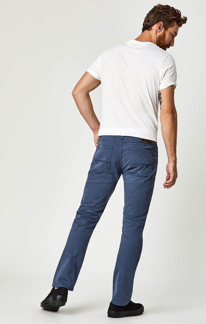 ZACH STRAIGHT LEG IN VINTAGE INDIGO SATEEN TWILL - Mavi Jeans