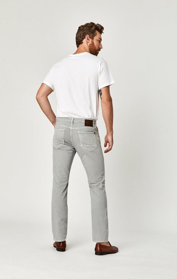 ZACH STRAIGHT LEG IN LT GREY COMFORT - Mavi Jeans