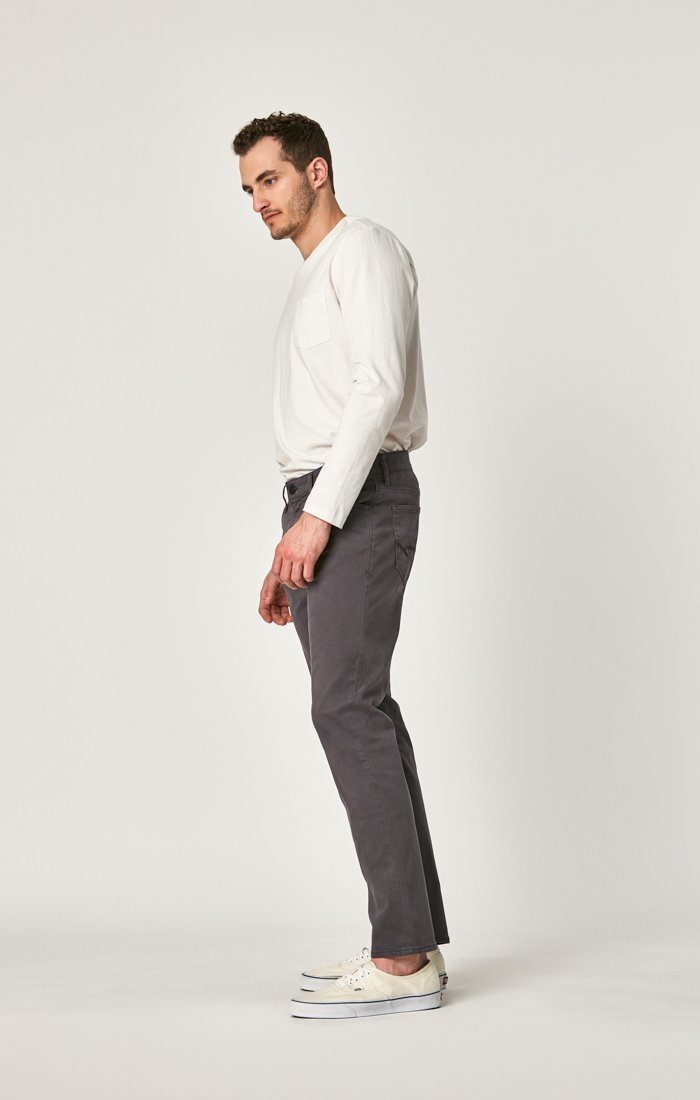 MARCUS SLIM STRAIGHT LEG IN BLACKENED PEARL SATEEN - Mavi Jeans