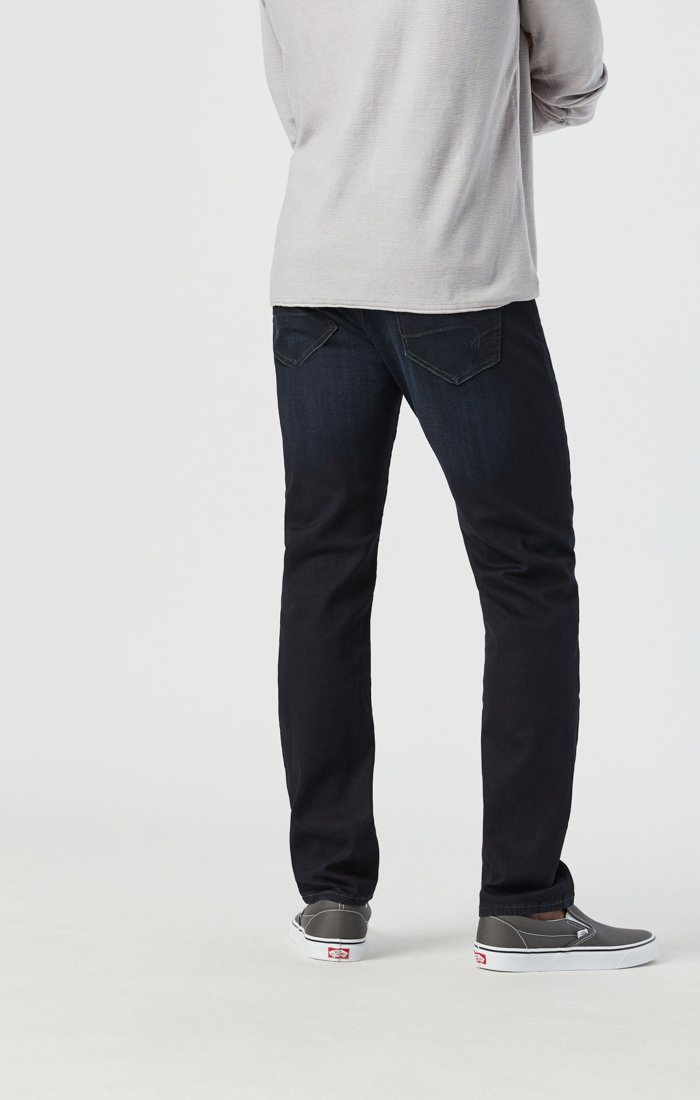MARCUS SLIM STRAIGHT LEG JEANS IN DEEP INK CASHMERE Image 6