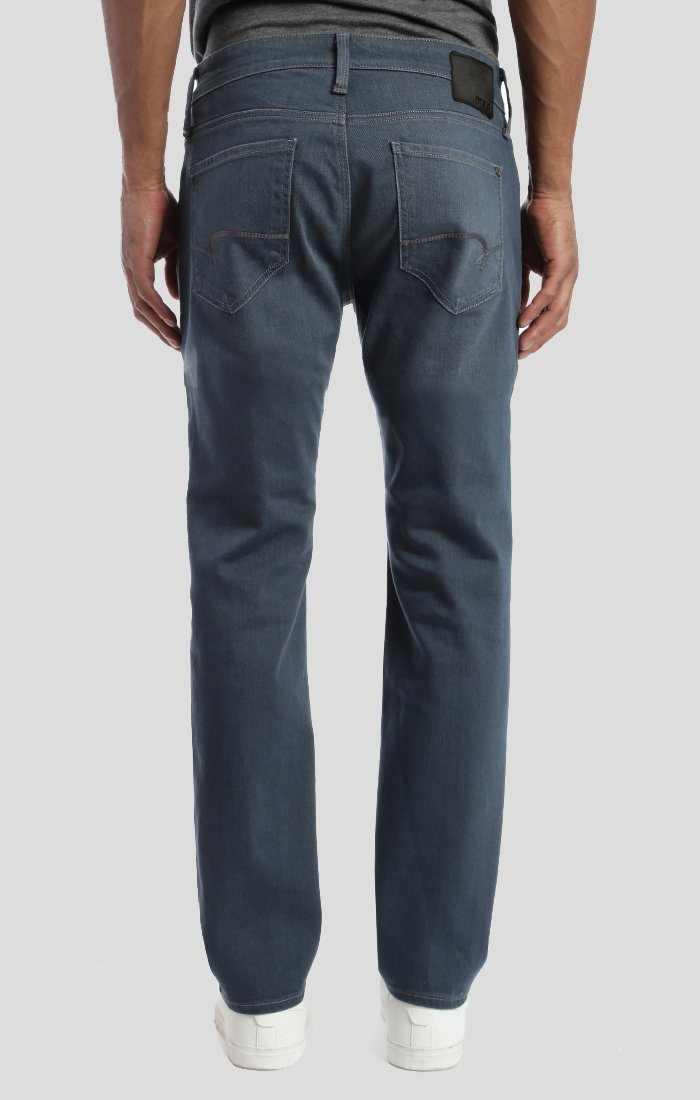 MARCUS SLIM STRAIGHT LEG IN DARK BLUE GREY - Mavi Jeans