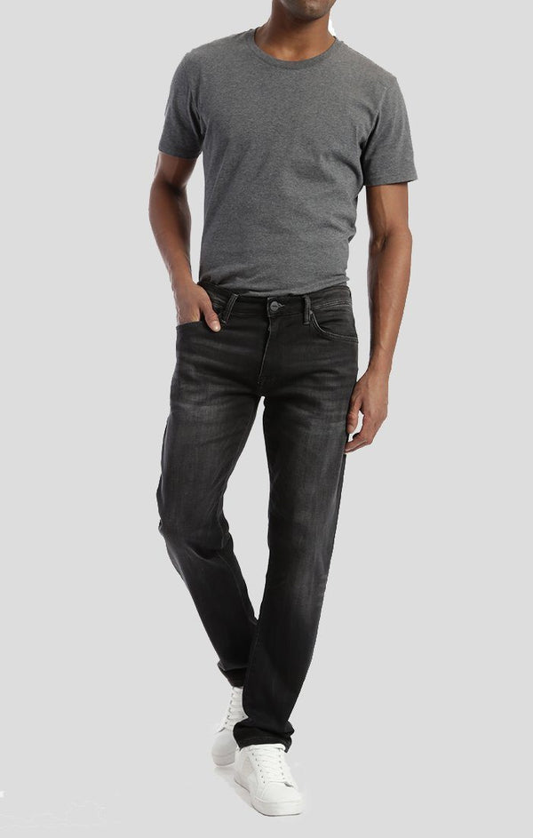 MARCUS SLIM STRAIGHT LEG IN SMOKE SPORTY - Mavi Jeans